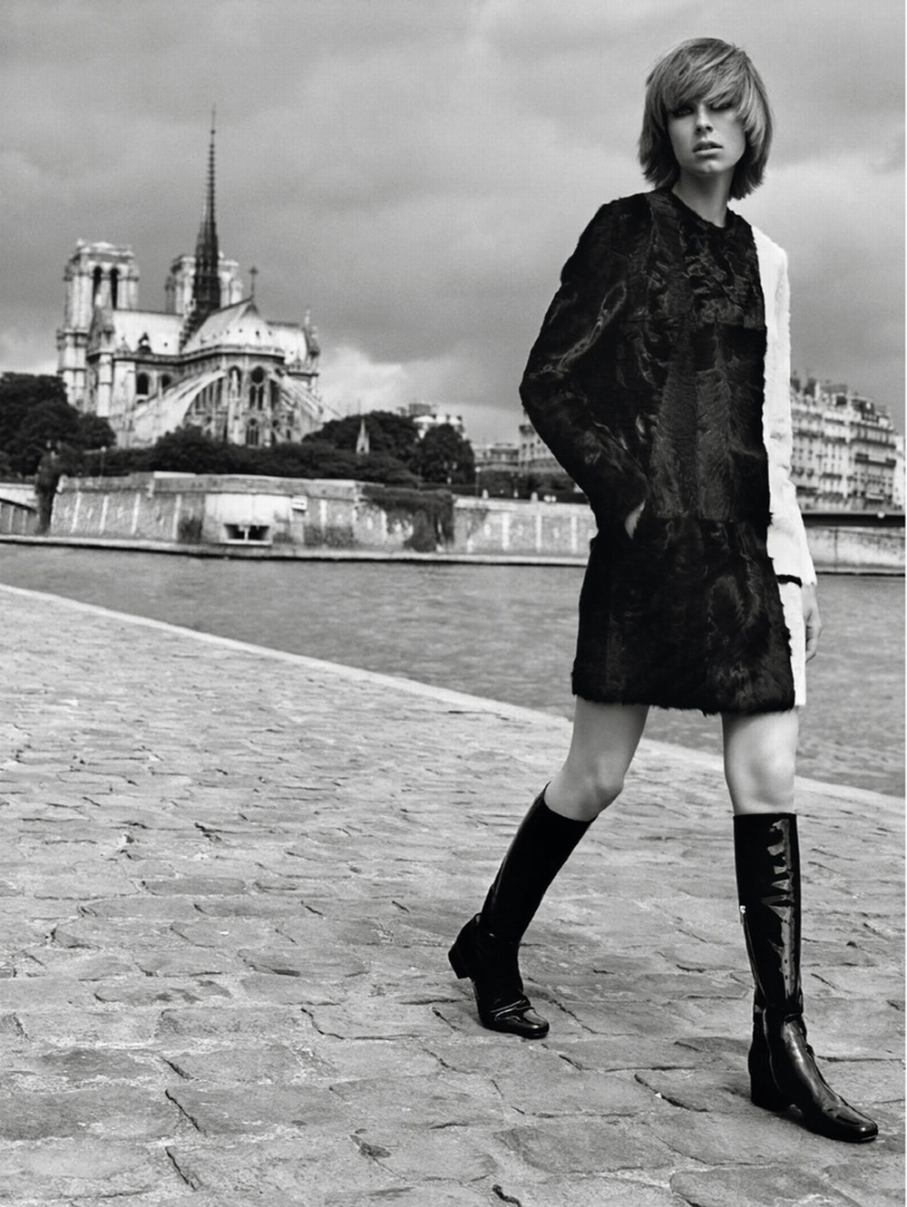 edie à paris Vogue Paris 7