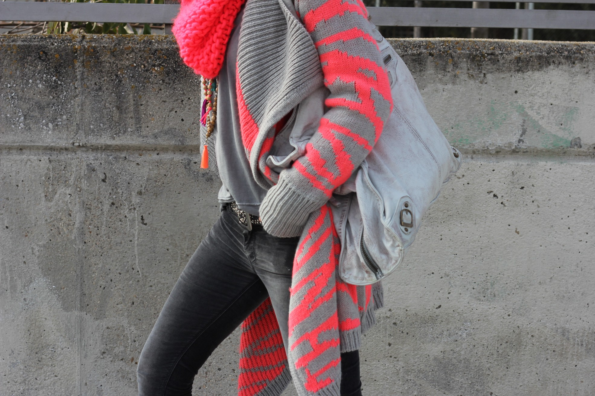 knitted fluor jacket-59170-mytenida