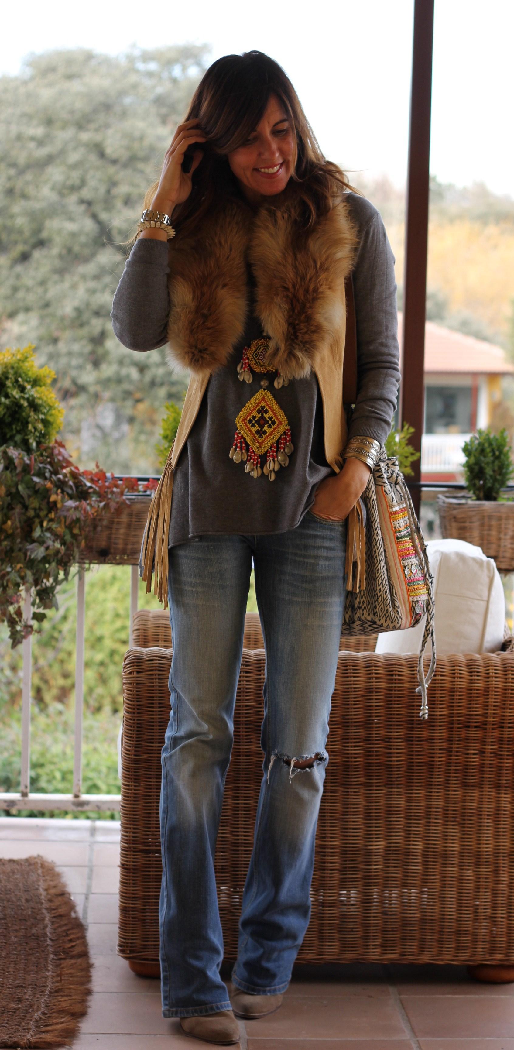 fringed vest: boho Mytenida-59090-mytenida