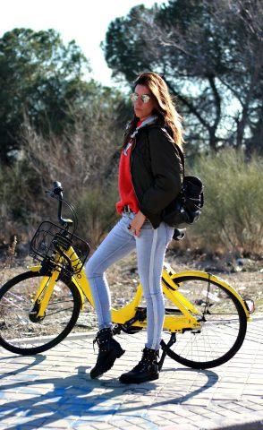 llévame en tu bicicleta