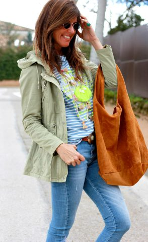 parka and neon: perfect combination!!!!