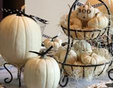 Decoración de mesas para Halloween
