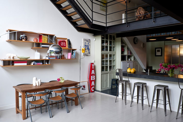 deco industrial loft olinda style. Black Bedroom Furniture Sets. Home Design Ideas