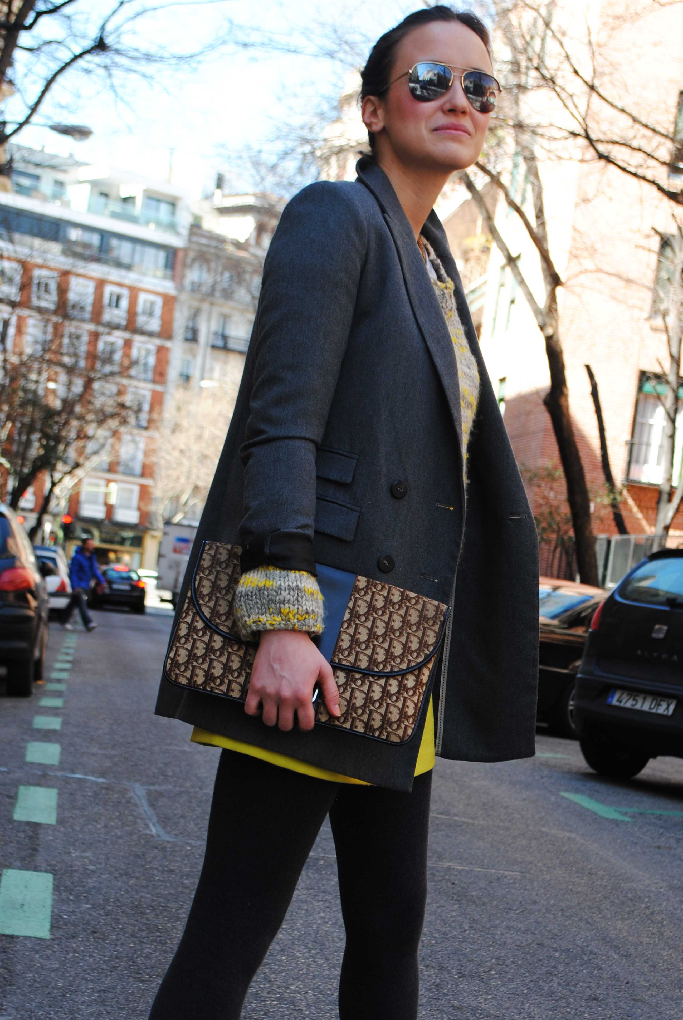 Abrigo/Coat: Vintage – Falda/Skirt: American Retro – Beanie: H&M ...