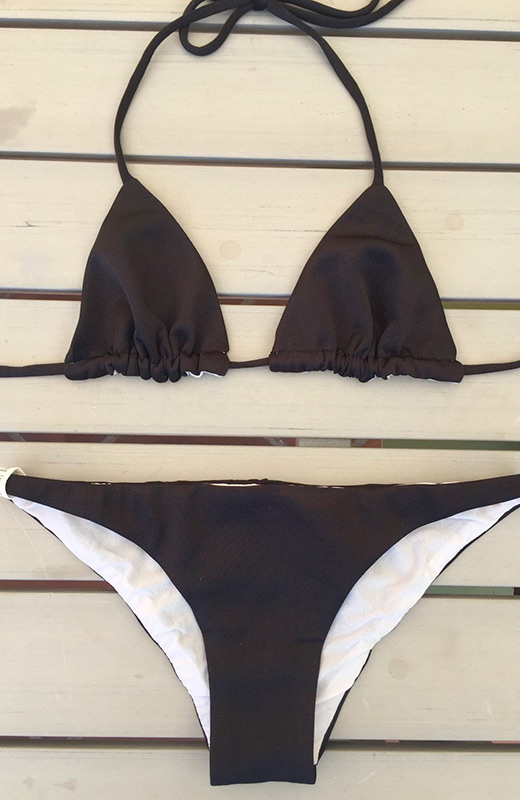 peperoni band bikini negro