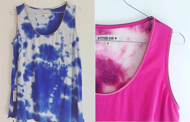 "La camiseta ""discoloration"" vuelve a reinar este verano"
