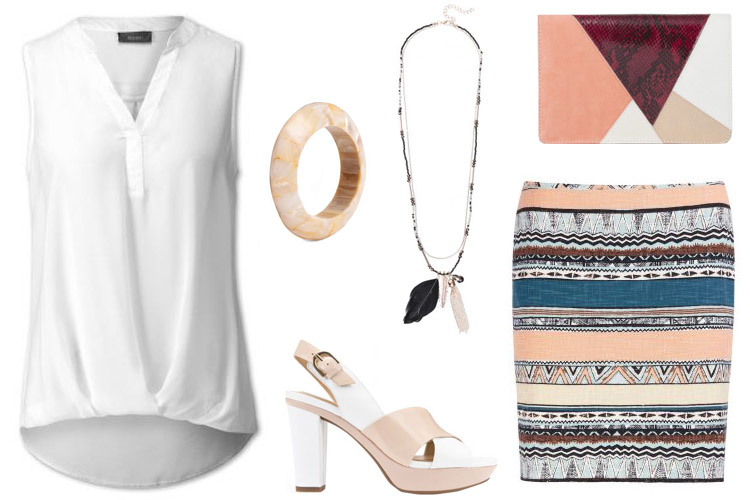 blusa blanca-plaza mayor malaga-centro comercial plaza mayor-fashion 4 me-blusa y falda