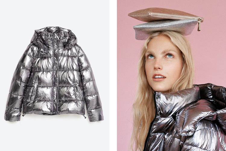 Alerta tendencia moda metalizada en zara plaza mayor - Zara malaga centro ...
