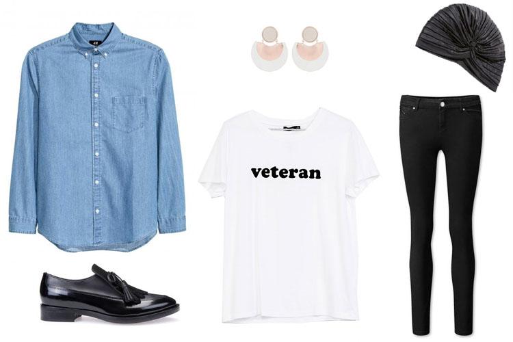 Look del día: camisa vaquera de hombre para mujer-1800-asos