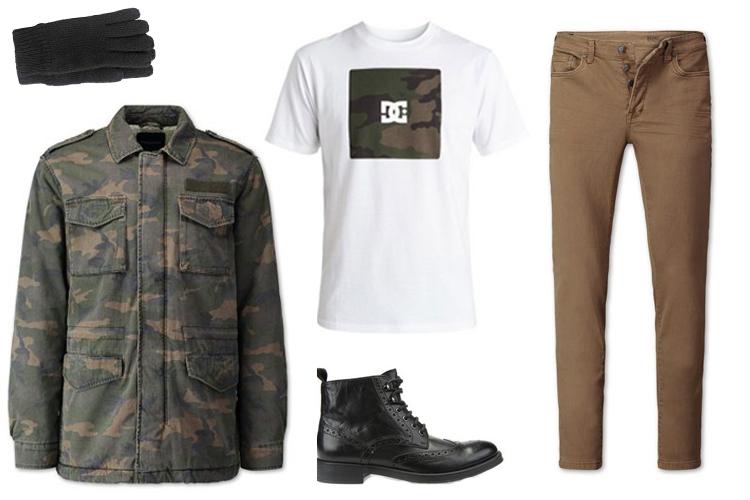 Look del día: estilo militar para ellos-1946-bearodriguez