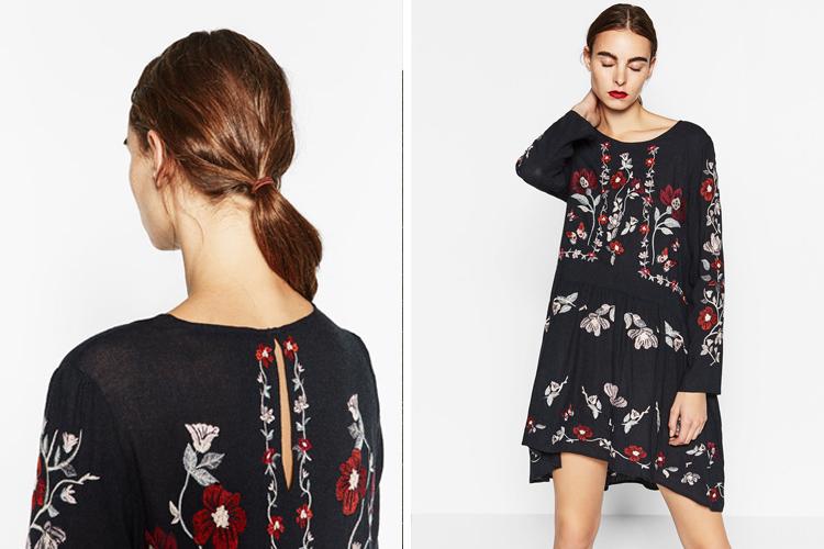 Vestidos de invierno qu es lo que triunfa en las tiendas - Zara malaga centro ...