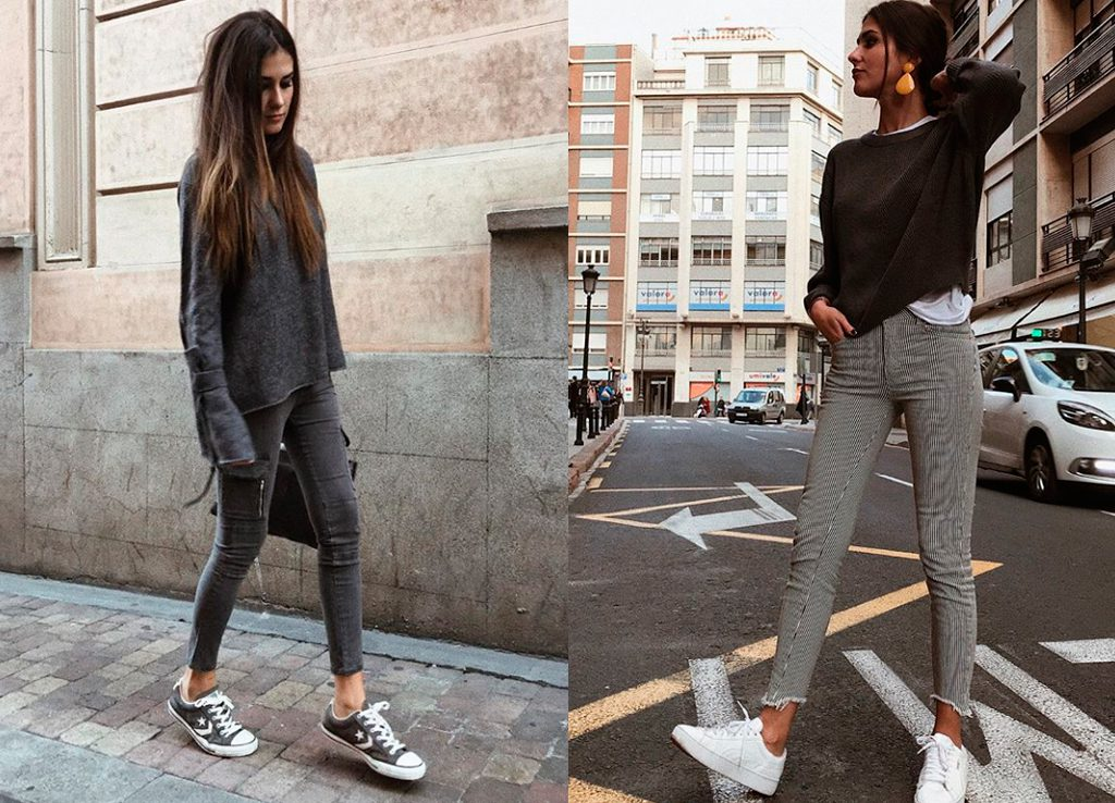 Mery Turiel con jersey gris oscuro