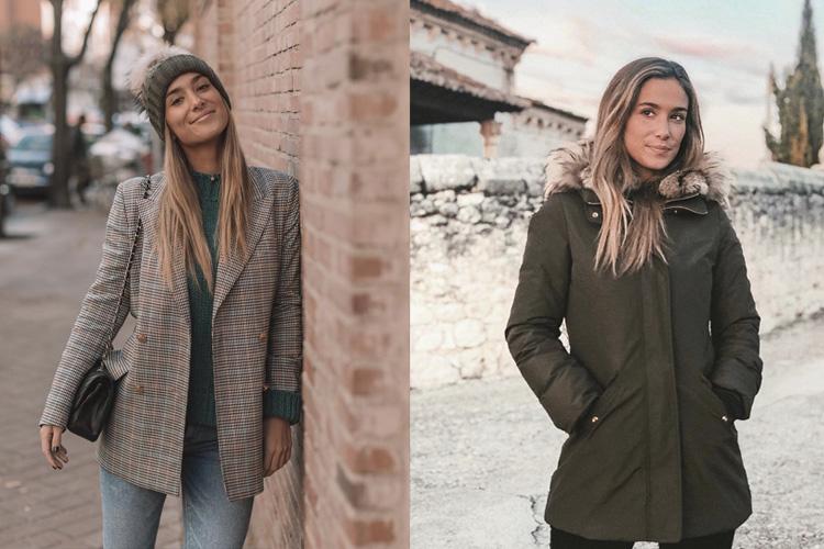 María Pombo con blazer