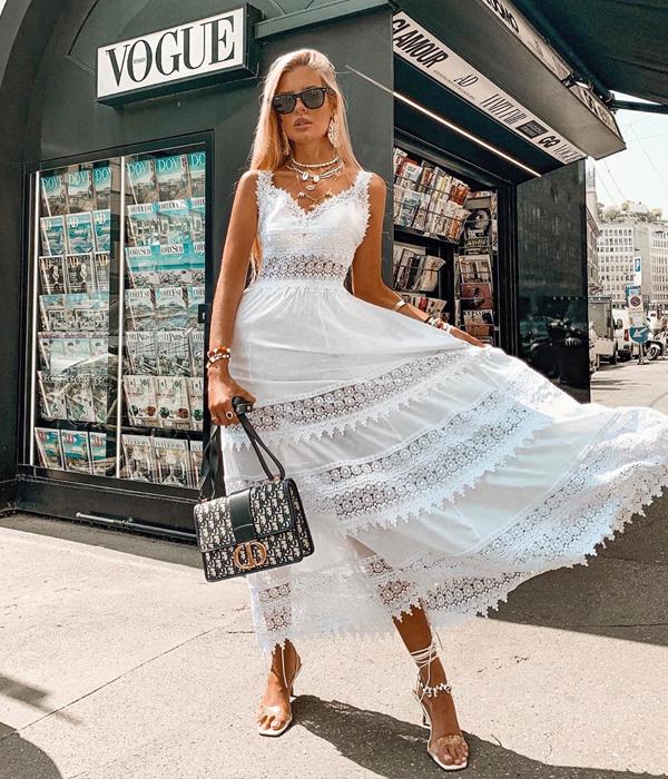 teresa andres gonzalvo vestido blanco