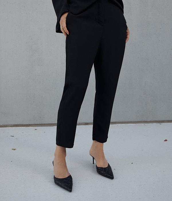 Pantalón negro de Zara en Plaza Mayor