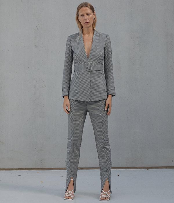 Ropa para ir a trabajar: Traje de chaqueta de Zara en Plaza Mayor