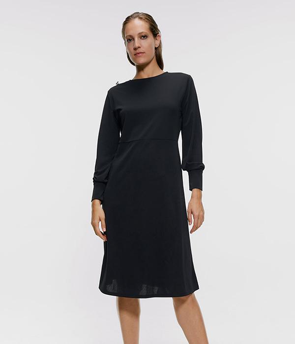 Ropa para ir a trabajar: vestido de Zara en Plaza Mayor