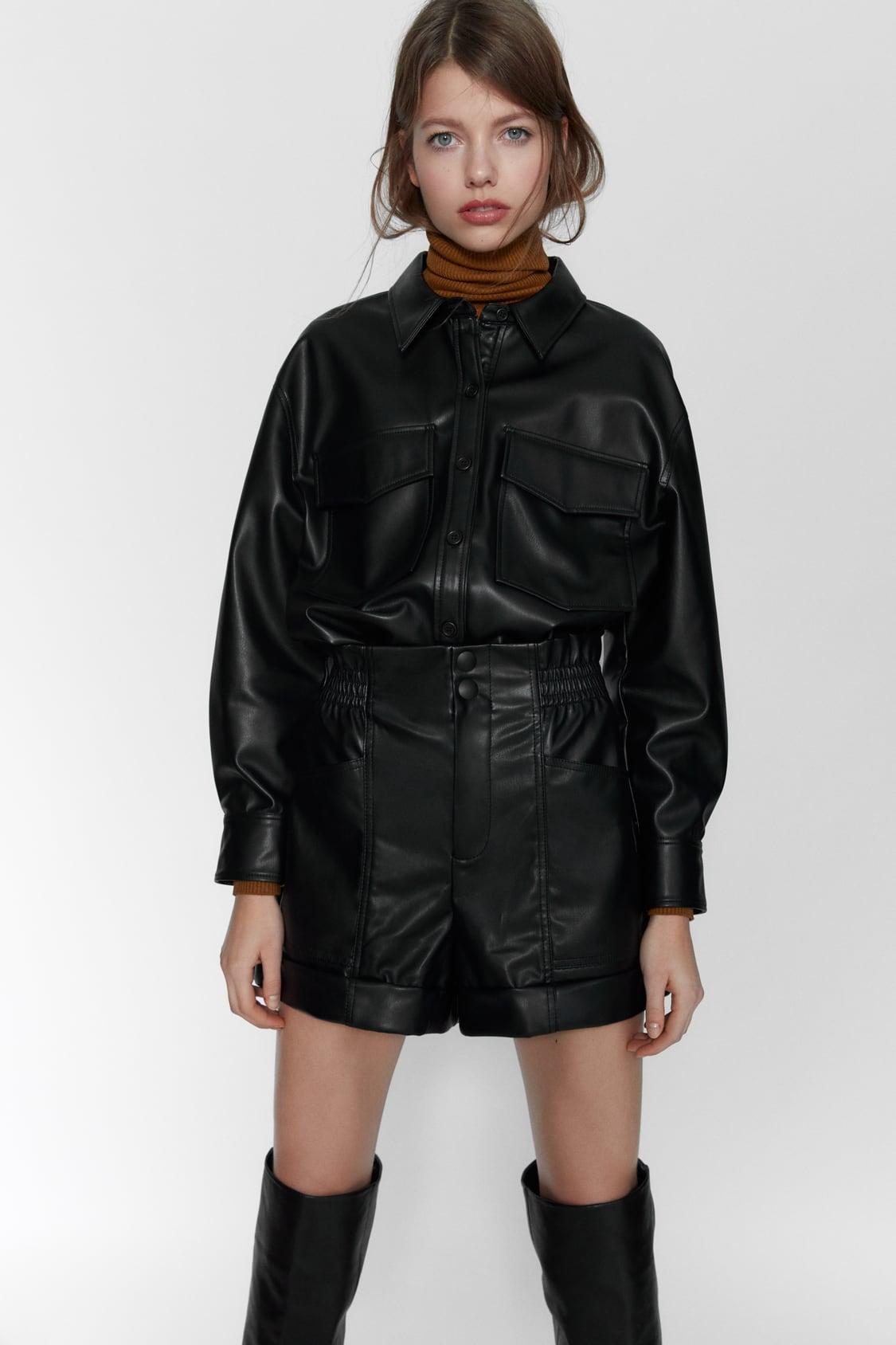 Mini shorts de Zara