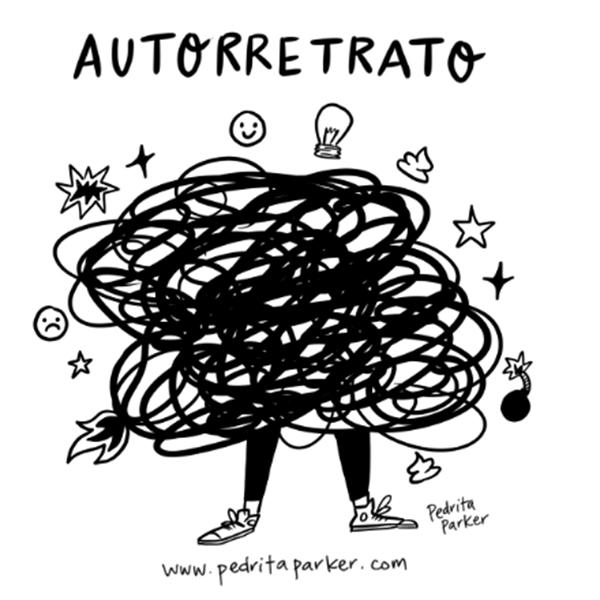 autorretrato ilustración Pedrita Parker
