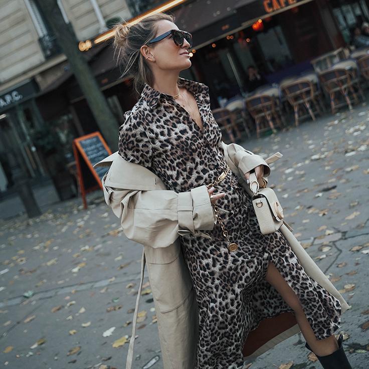 bartabacmode vestidos camiseros estampado animal