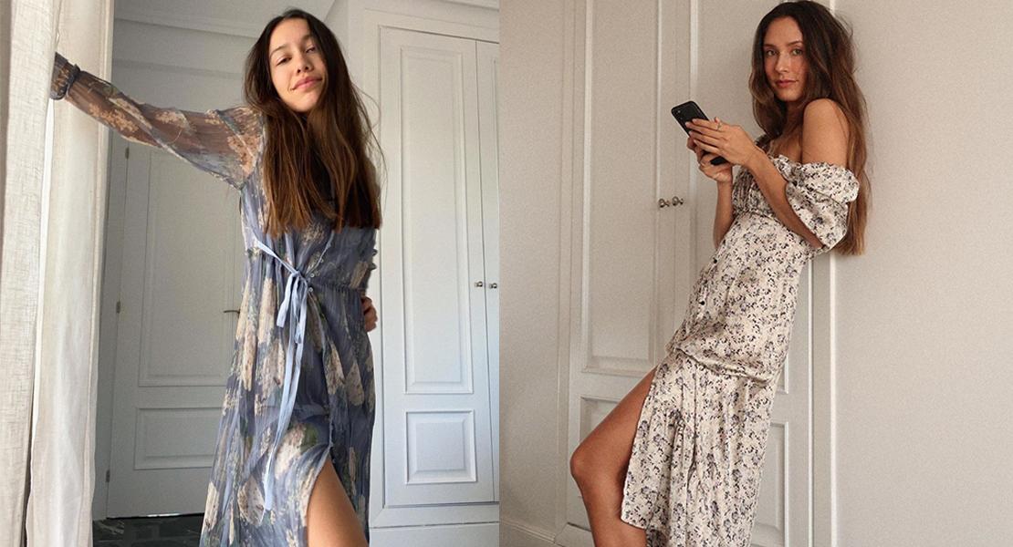 @melissavillarreal y @gracyvillarreal vestidos largos