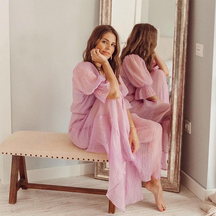 jessie kass chanes vestido color pastel lila