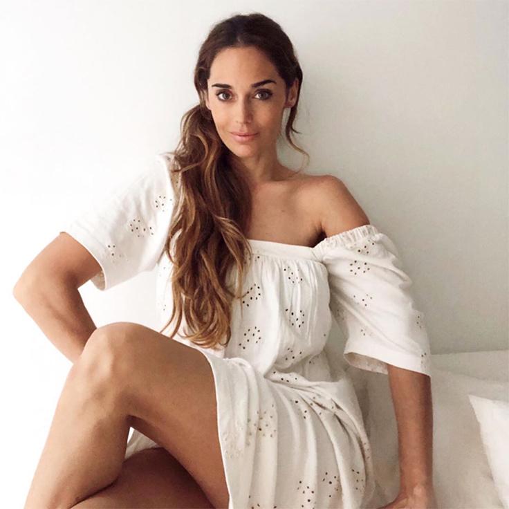vestido blanco maria tilve