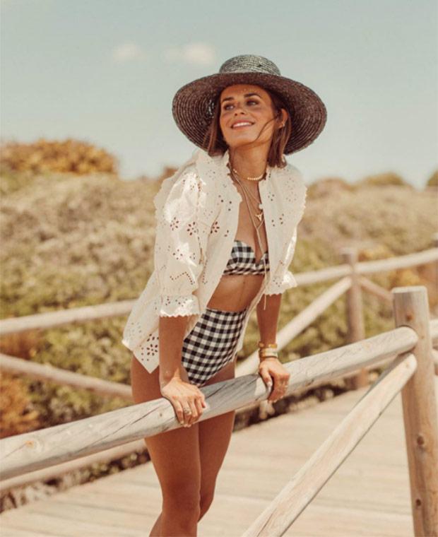 Jessie Chanes con bikini estampado | Plaza Mayor