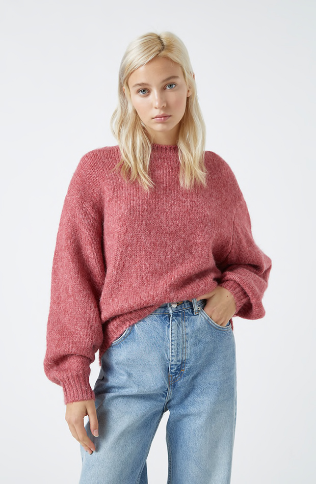 Jersey en color rosa de PUll & Bear