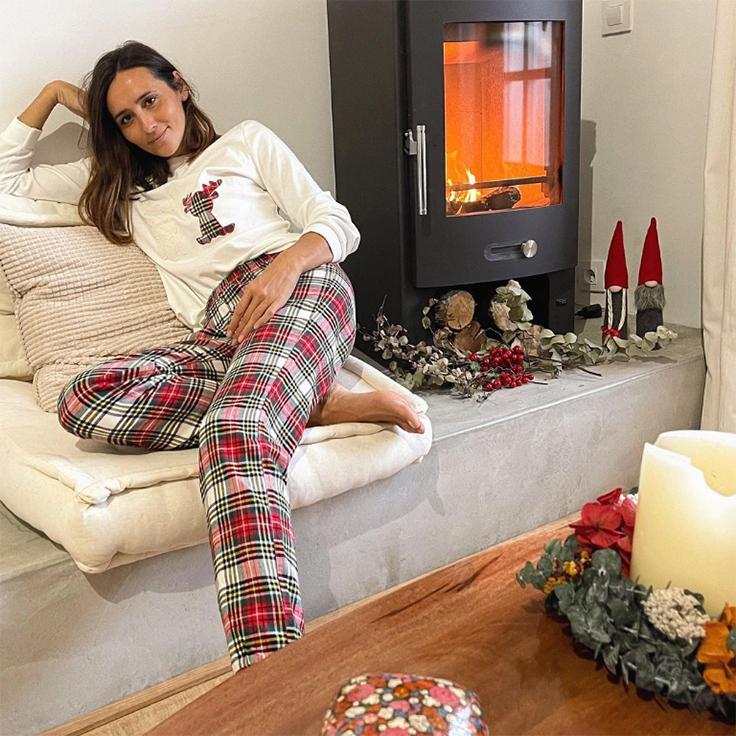 coohuco inma soria pijamas de invierno