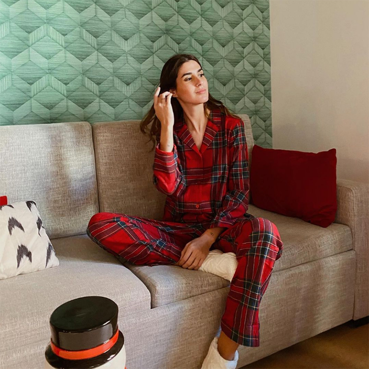 mery turiel pijamas de invierno
