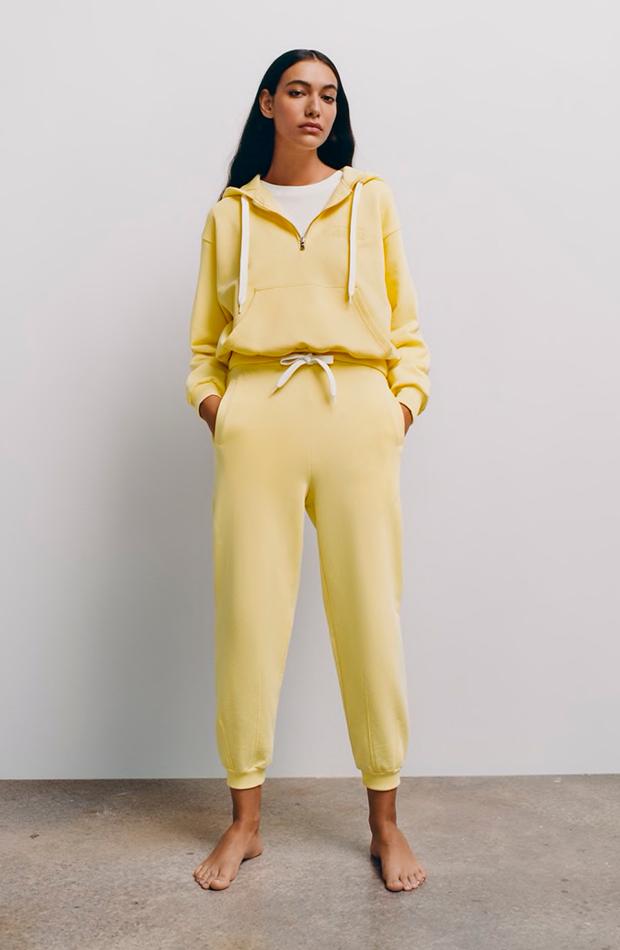 Chandal amarillo de Zara prendas deportivas