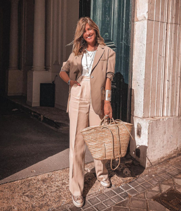 Influencers con bolsos capazo
