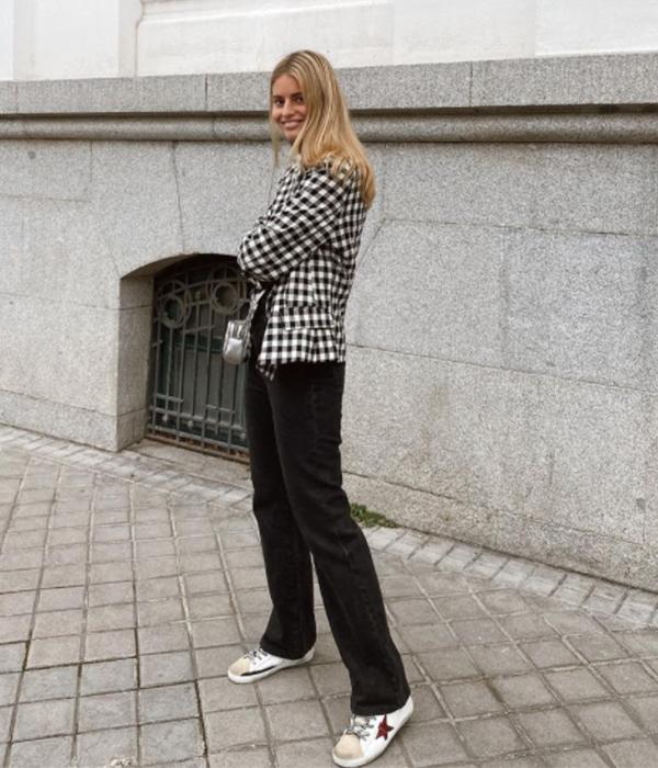 María Garrido con chaqueta americana