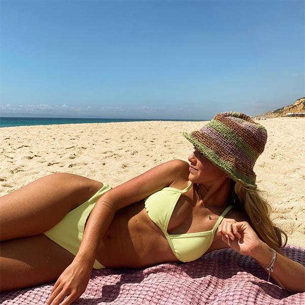 accesorios de verano sombrero carlota weber