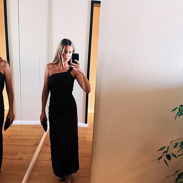 sofia paramio looks elegantes vestido negro