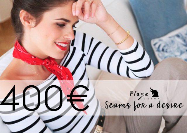 ¡Gana 400€ para irte de compras con la blogger Seams for a Desire!