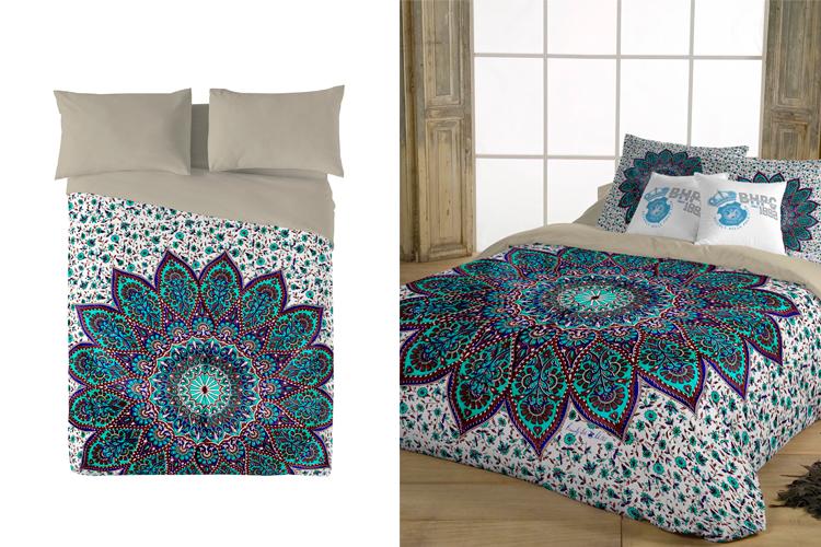 Pon un mandala en tu cama sin categor a primeriti - Nordicos de plumon corte ingles ...