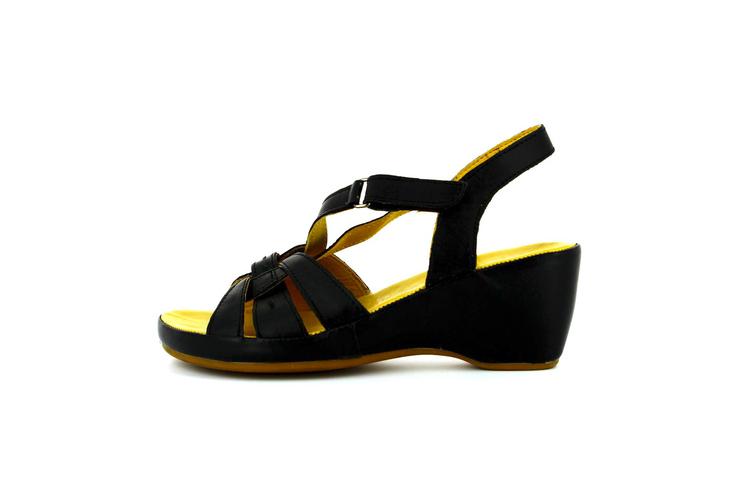 El · 2 comodos negras Primeriti corte Cómodos El Zapatos Corte Zapatos Mujer Comodos Sandalias ingles Ingles zwq08Fx