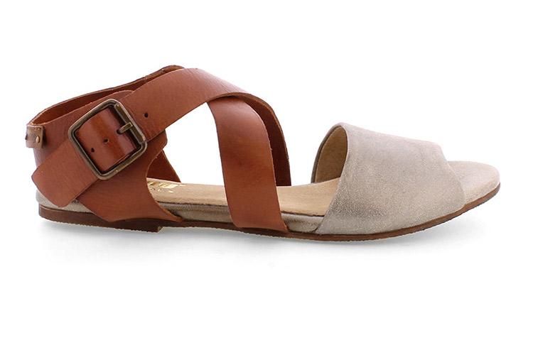 Zapatos de mujer sandalias planas Primeriti