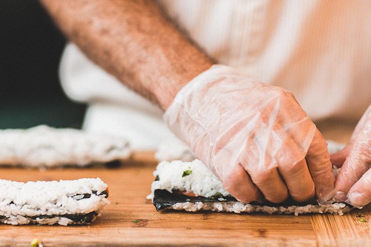 cómo hacer sushi para dos con Primeriti y homeplus