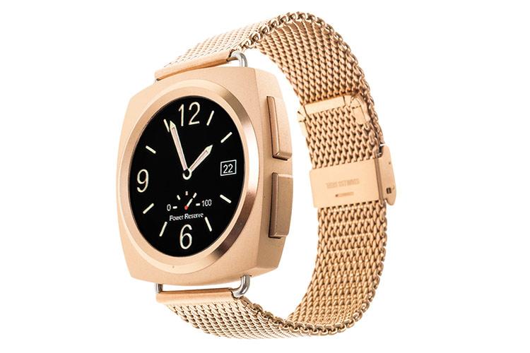 relojes tecnológicos de tekkiwear en primeriti. dorado