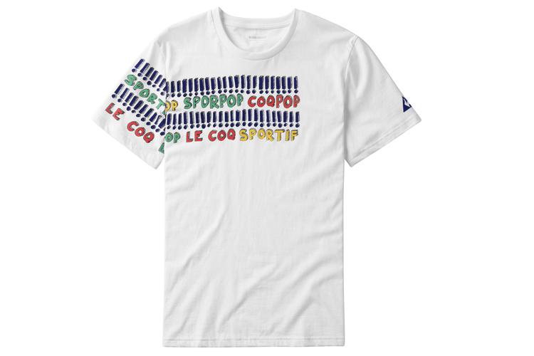 ropa deportiva para salir a la calle camiseta algodón Le Coq Sportif en Primeriti
