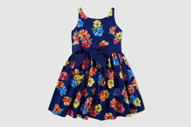 ropa de invitado para niños de Polo Ralph Lauren en Primeriti vestido flores niña