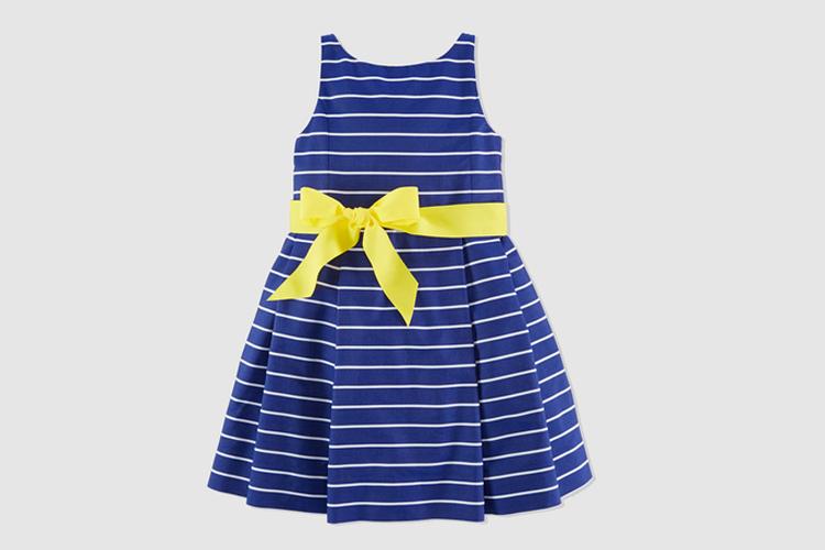 ropa de invitado para niños de Polo Ralph Lauren en Primeriti vestido rayas niña