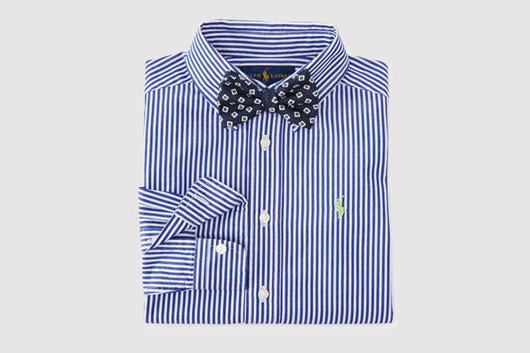 ropa de invitado para niños de Polo Ralph Lauren en Primeriti camisa rayas niño