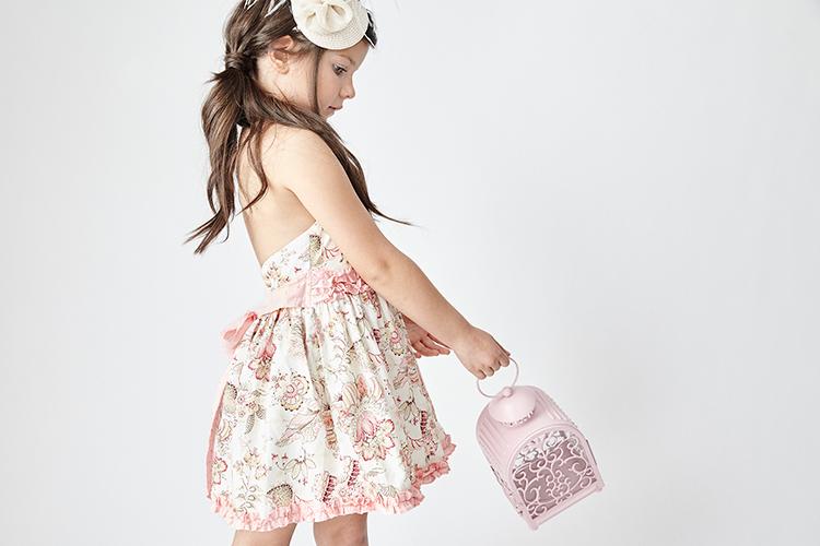 vestidos de verano para niñas en primeriti con tartaleta