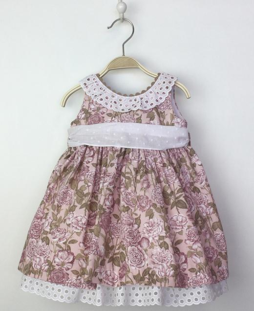 vestidos de verano para niñas e tartaleta en primeriti, estilo clásico