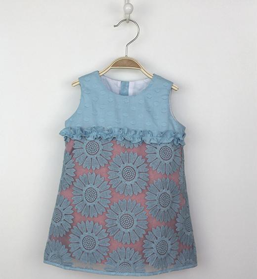 vestidos de verano para niñas de tartaleta en primeriti, combinado