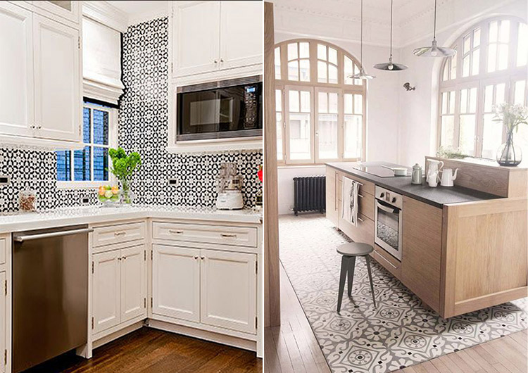 azulejos vinílicos en primeriti, ideas para cocinas